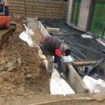 aanleg gescheiden rioleringsstelsel Vlezenbeek met infiltratieput hemelwaterput septische put_0797 - Massaert bvba