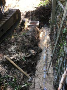 aanleg hemelwaterafvoer en drainage gescheiden riolering Dilbeek_1094