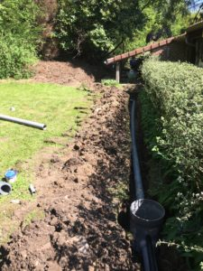 aanleg hemelwaterafvoer en drainage gescheiden riolering Dilbeek_1107