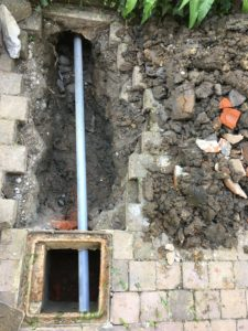 aanleg hemelwaterafvoer en drainage gescheiden riolering Dilbeek_1110