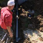 aanleg hemelwaterput en infiltratieput in waterdoorlatend beton Vlezenbeek afkoppelingsdossier - Massaert bvba