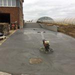 aanleg oprit gepolierd beton Sint-Pieters-Leeuw_0716 - Massaert bvba