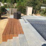 aanleg terras zwembad trap tropisch hardhout Vlezenbeek_1156 - Massaert bvba