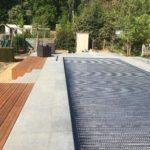 aanleg terras zwembad trap tropisch hardhout Vlezenbeek_1158 - Massaert bvba