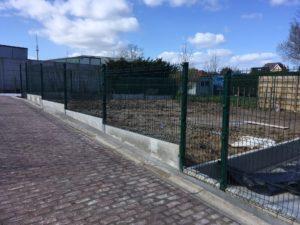 aanleg tuinafsluiting Sint-Pieters-Leeuw 2