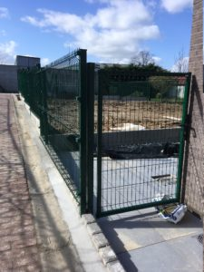 aanleg tuinafsluiting Sint-Pieters-Leeuw