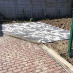 aanleg verharding voor carport in realta klinkers - Massaert bvba