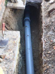 afkoppeling scheiden riolering Ruisbroek 15