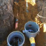 gescheiden riolering met hemelwaterciterne en septische put Sint-Pieters-Leeuw 12 - Massaert bvba