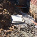 gescheiden riolering met hemelwaterciterne en septische put Sint-Pieters-Leeuw 21 - Massaert bvba