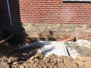 gescheiden riolering met hemelwaterciterne en septische put Sint-Pieters-Leeuw 22