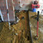 gescheiden riolering met hemelwaterciterne en septische put Sint-Pieters-Leeuw 5 - Massaert bvba