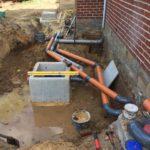 gescheiden riolering met hemelwaterciterne en septische put Sint-Pieters-Leeuw 9 - Massaert bvba