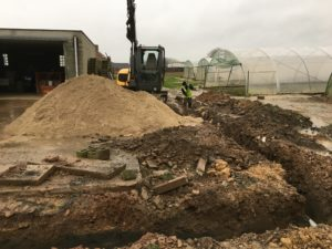 gescheiden riolering terras oprit polybeton Sint-Pieters-Leeuw_0650
