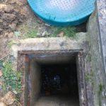 plaatsing op maat gemaakte pompput gescheiden riolering Sint-Pieters-Leeuw 3 - Massaert bvba