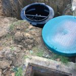 plaatsing op maat gemaakte pompput gescheiden riolering Sint-Pieters-Leeuw 4 - Massaert bvba