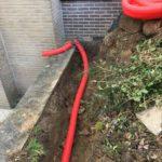 plaatsing op maat gemaakte pompput gescheiden riolering Sint-Pieters-Leeuw 5 - Massaert bvba